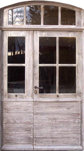 Portes d 39 entree portes vitr es portes antiques for Fenetre avec imposte
