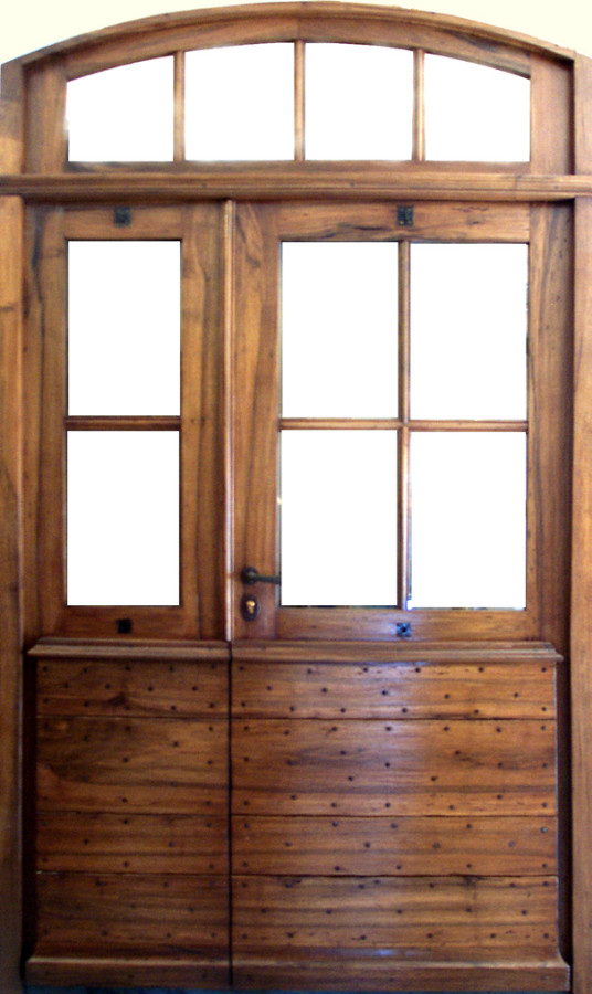 Entr e proven ale 6 carreaux avec imposte portes d 39 entree Porte d entree avec imposte