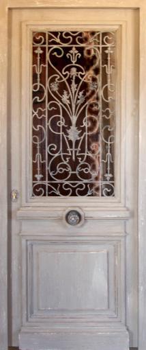 Portes Dentree Fer Forgé Portes Antiques - Grille ouvrante pour porte d entrée