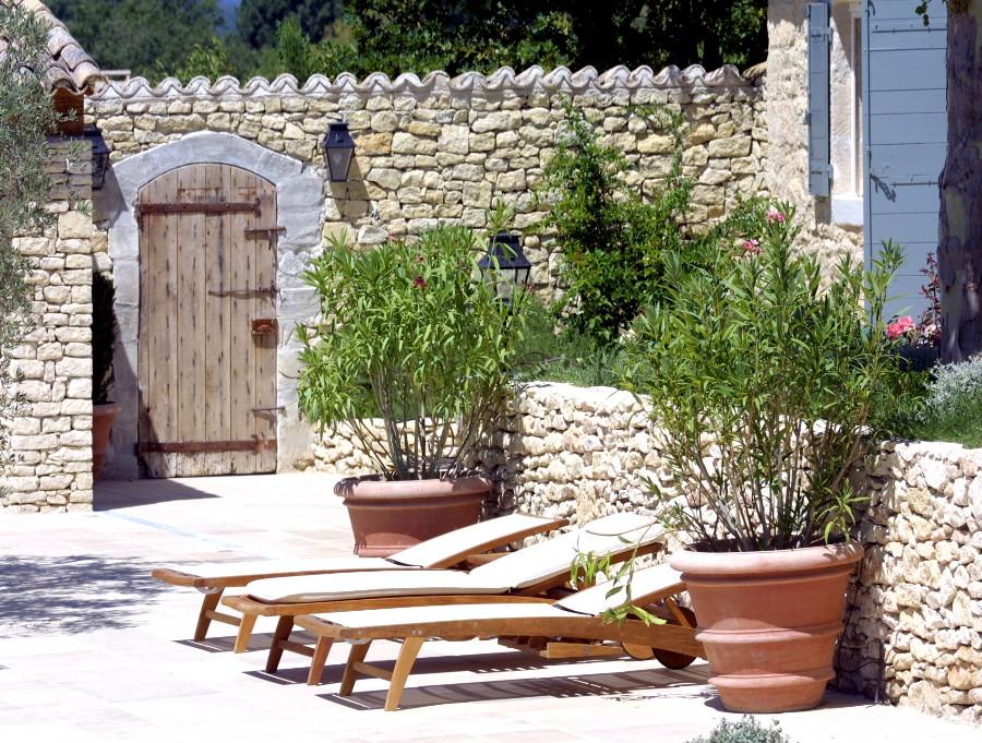 Porte de cour de jardin nos r alisations portes antiques - Porte de jardin ...