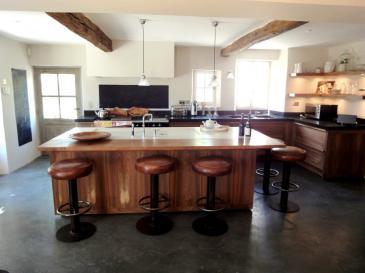 cuisine contemporaine devant porte fen tre lumi re sur bois nos r alisations portes antiques. Black Bedroom Furniture Sets. Home Design Ideas