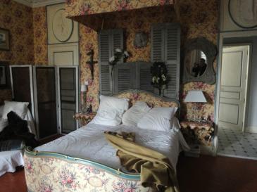 T te de lit en volets persiens le vieux bois r hausse la d coration raffin e - Tete de lit avec vieux volets ...