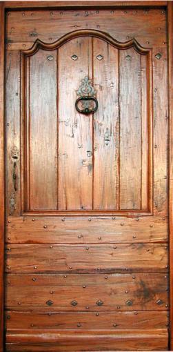 entr e r gence campagne noyer ou patine peinture portes d 39 entree portes de style portes. Black Bedroom Furniture Sets. Home Design Ideas