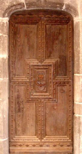 Entr e d but renaissance bois vieilli portes d 39 entree portes rustiques - Porte d entree provencale ...