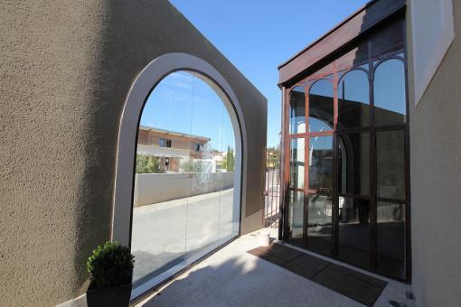 Ferronnerie portes antiques - Veranda decoratie ...