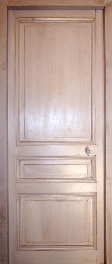 porte en pin 3 panneaux portes int rieures portes antiques