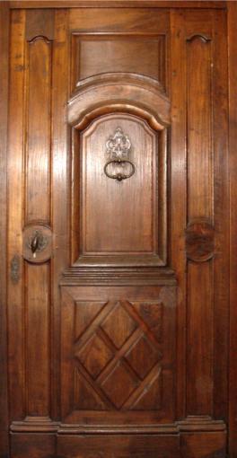louis xv regence a grand cadre avec soubassement portes d 39 entree portes de style portes. Black Bedroom Furniture Sets. Home Design Ideas