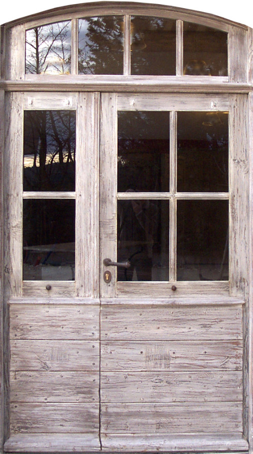 Entr e proven ale 6 carreaux avec imposte portes d 39 entree for Porte interieure vitree 6 carreaux