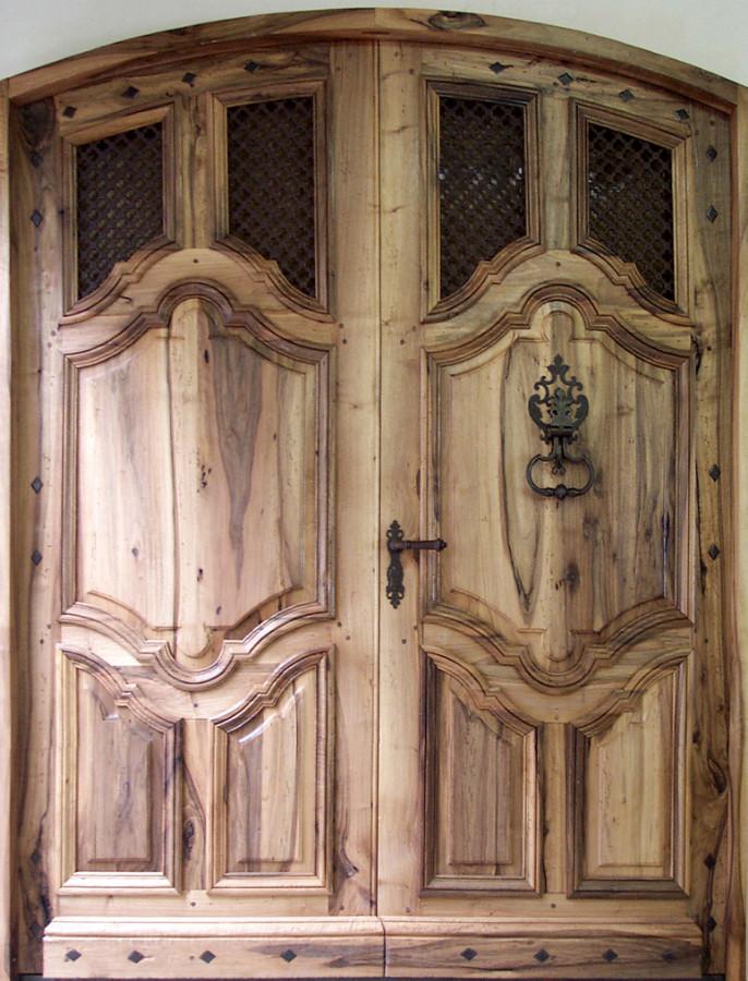 Portes d 39 entree portes antiques for Porte d entree double battant prix