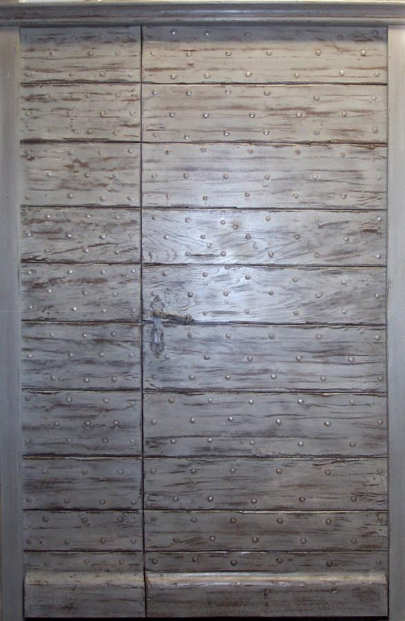 Porte lames en vieux ch ne portes d 39 entree portes antiques - Porte d entree provencale ...