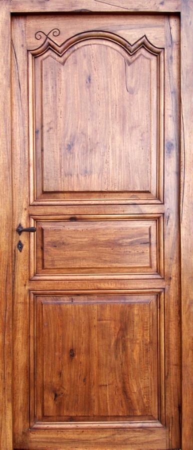 Porte 3 panneaux poque r gence portes int rieures for Porte 3 panneaux