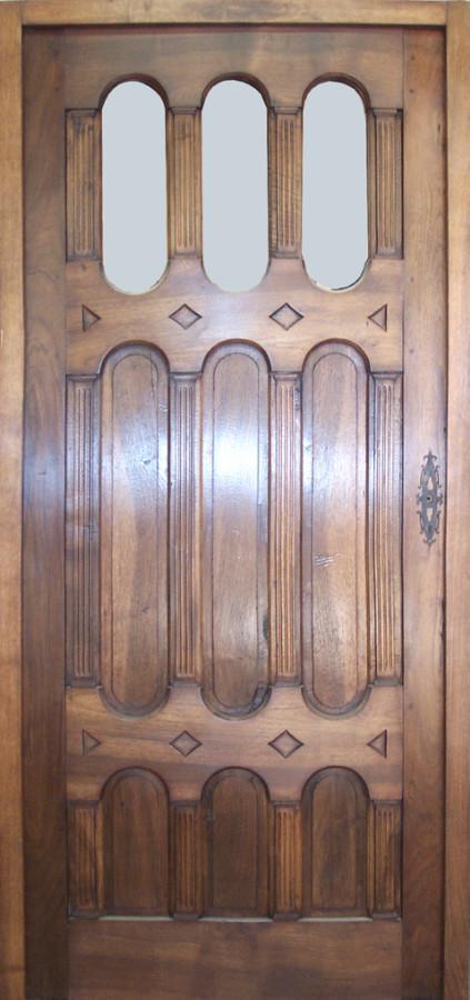 Porte d corative 19 me si cle portes int rieures portes for Porte decorative