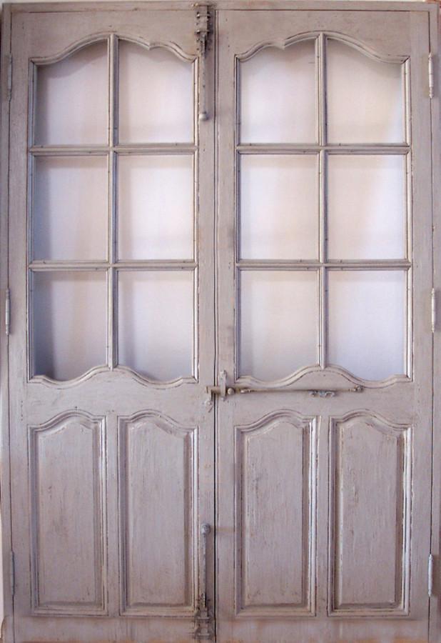 Porte Intérieure Vitrée : Portes vitrées époque régence intérieures