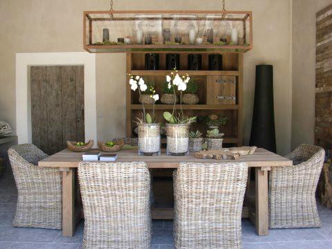 table ext rieure en bois nos r alisations portes antiques. Black Bedroom Furniture Sets. Home Design Ideas