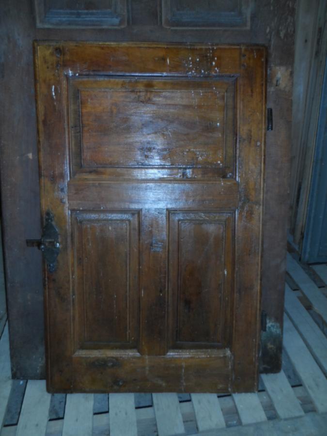 Petite porte 3 panneaux en l 39 tat portes de placard portes antiques - Petite porte de placard ...