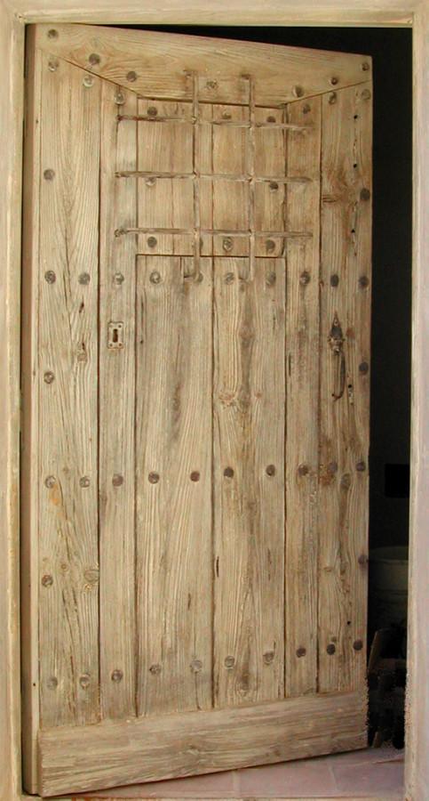 Entre Rustique Avec Barreaux Portes DEntree  Portes Antiques