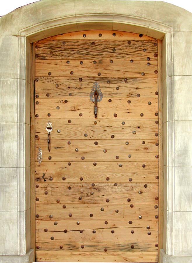 Porte donjon portes d 39 entree portes rustiques portes antiques for Porte d entree provencale