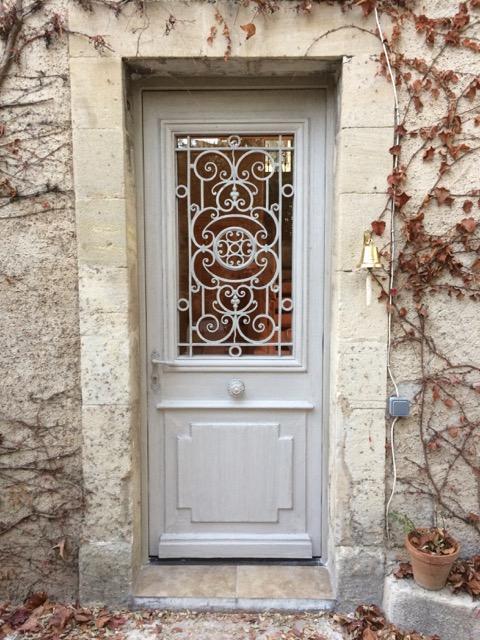 Portes d 39 entree fer forg portes antiques for Porte fer forge ancienne