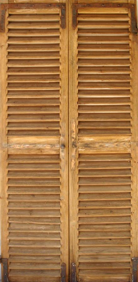 Portes de rangement persiennes portes de rangement for Portes interieures decoratives