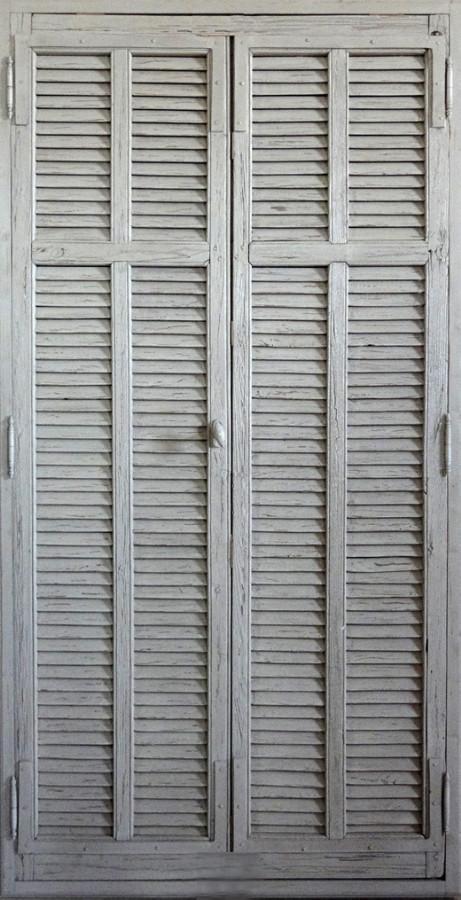 Portes persiennes lames am ricaines portes de for Portes de placard persiennes